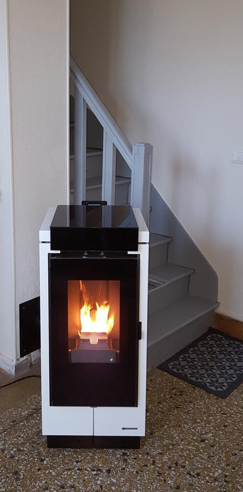 Po le granul s thermorossi bcv thermique chauffage plomberie sanitaire ventilation - Fonctionnement poele a granule ...