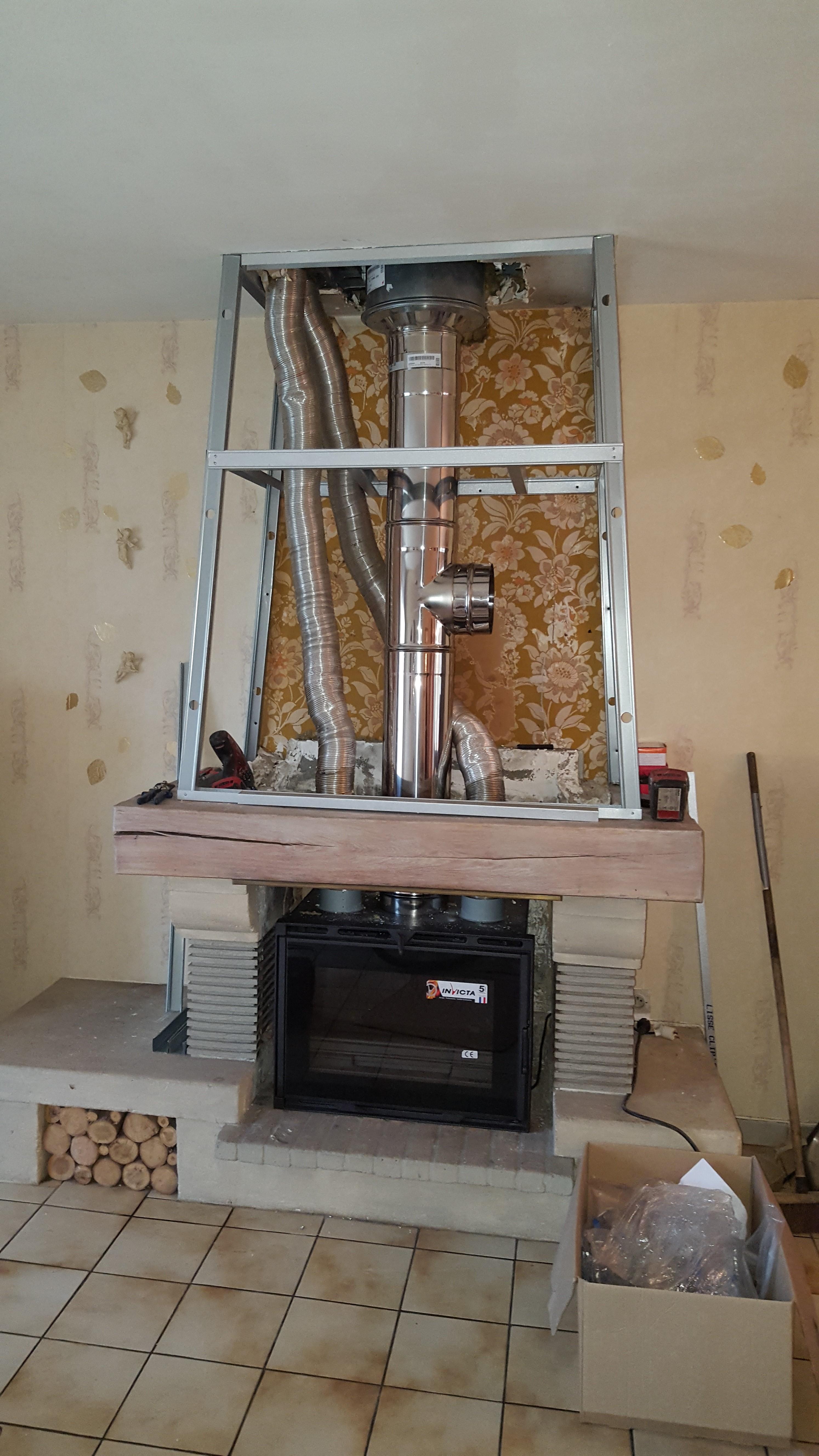 remplacement tubage et insert bcv thermique chauffage plomberie sanitaire ventilation. Black Bedroom Furniture Sets. Home Design Ideas