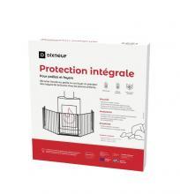Protection intégrale pour poêle