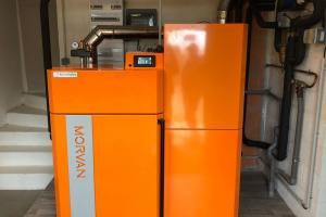 Chaudière MORVAN à granulés de bois GM Easy 24 kW