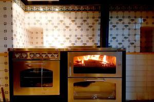 Chaudière bois D8 maxi couplée à une cuisinière électrique GD7 avec plaques à induction | De Manincor