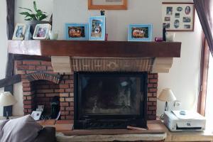 Remplacement de cheminée par poêle à granulés